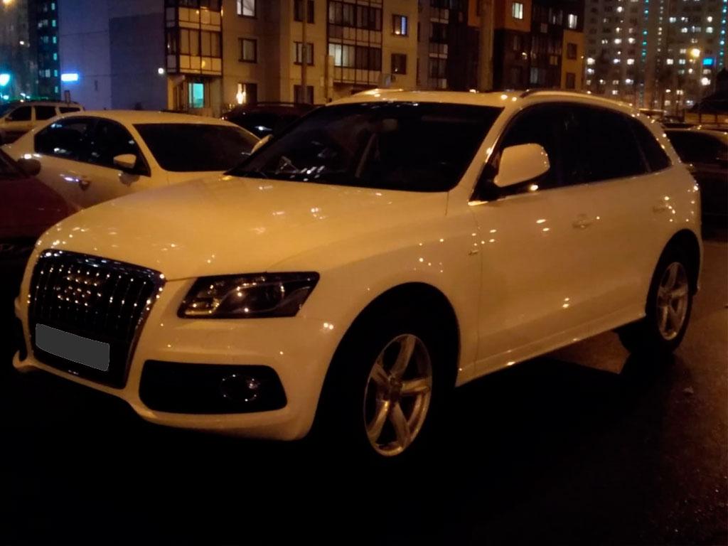 Audi Q5, диагностика мотора