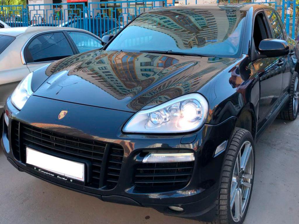 Диагностика Porsche Cayenne