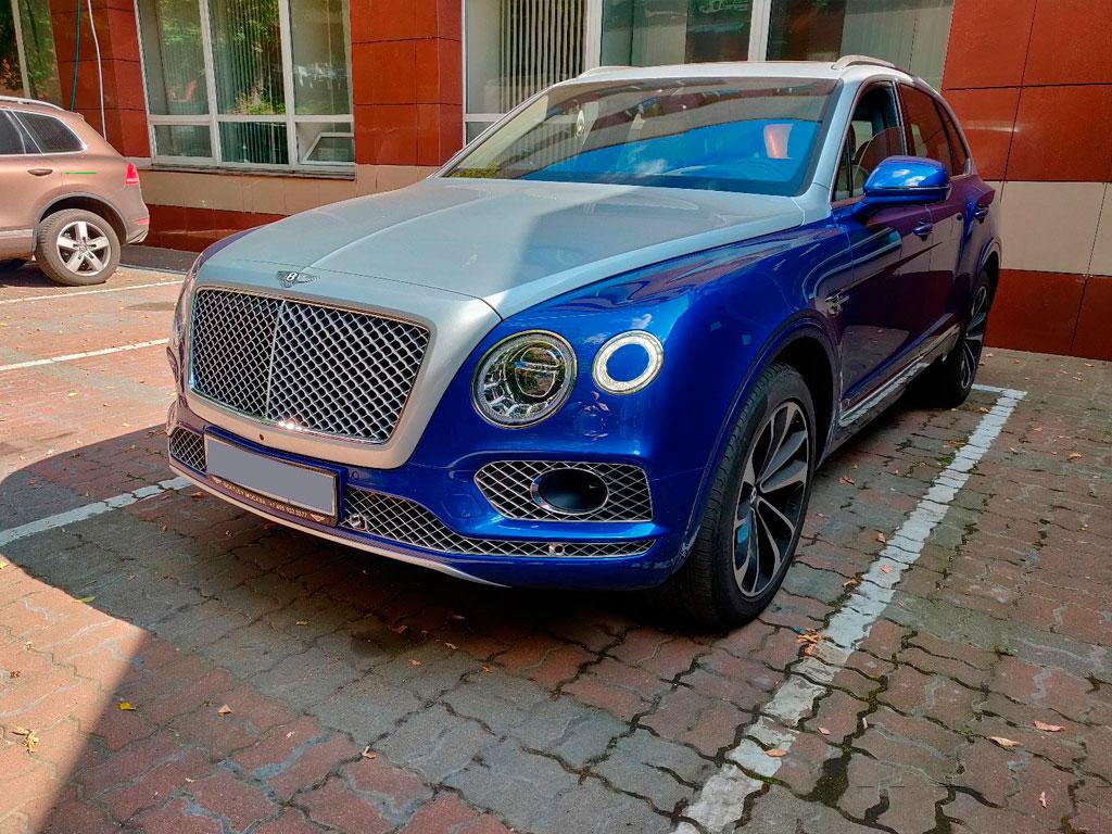 Bentley Bentayga за 12 500 000 р.