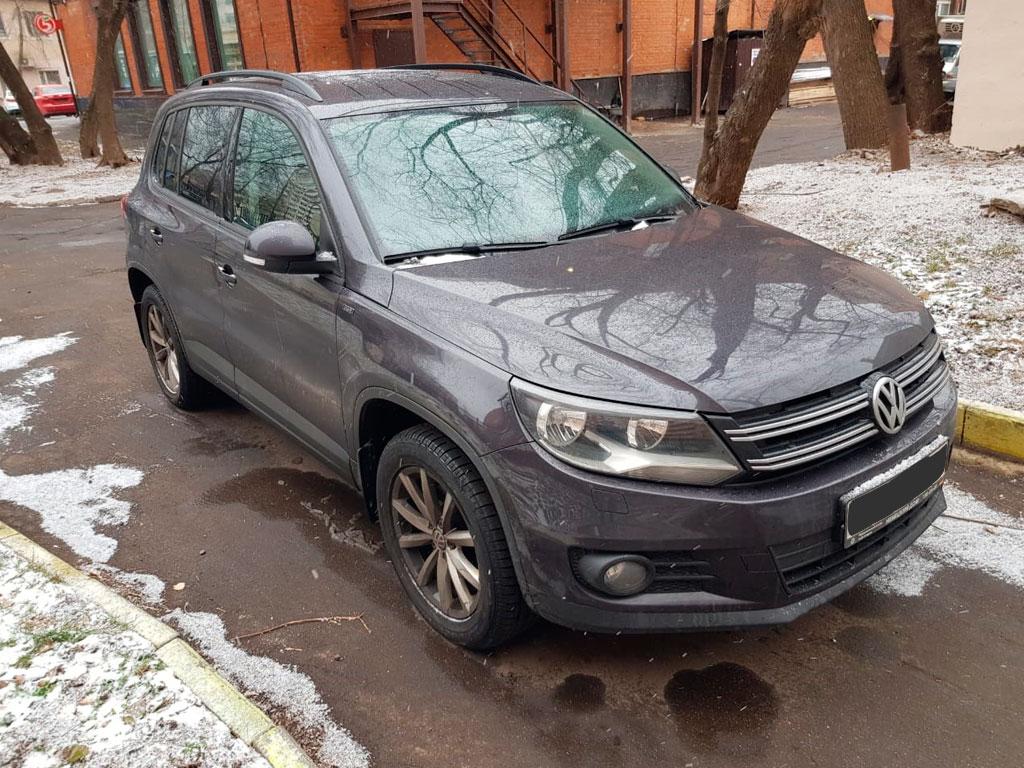 Volkswagen Tiguan 2015 год закрыт подбор под ключ