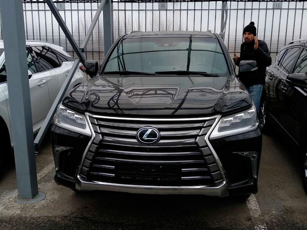 Lexus LX III рестайлинг